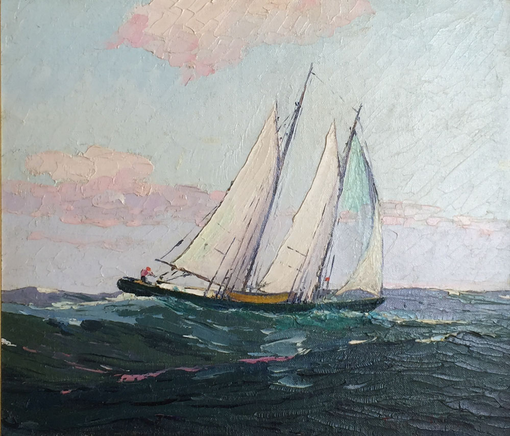 PaulShumanntwo masted schooner